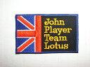 【アパレルスタッフセレクト】John Player Team Lotus ワッペン アップリケ わっ...
