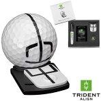 トライデントアラインTridentAlignゴルフ可動式ボールマーカーセットGOLFBALLMARKER2020カラー:ホワイト×ブラック