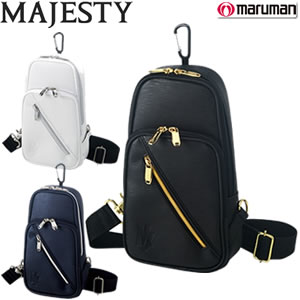 マルマン marumanマジェスティ MAJESTY ラウンドバッグ ショルダーバッグ メンズ 2018年モデル 全3色 サイズ:W34×D12.5×H23.5cm SB3748