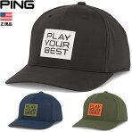 US正規品!ピンPINGStackedPYBキャップCAP帽子35554