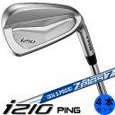 PING i210 ピン ゴルフ アイアン セット 4本セット(7〜9番・PW) ゼロス ZELOS 7 NS PRO スチールシャフト 左用あり 日本仕様