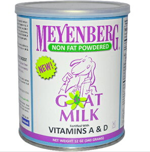 【無脂肪タイプ】 低カロリーヤギミルク 楽天最安値!!! メインバーグ ゴート ミルク 340gやぎミルク 山羊 ミルク 缶【RCP】【マラソン201307_最安値挑戦】