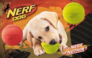 アメリカで人気の丈夫で噛むと音が鳴る登場!!大型犬用 NERF DOG スクイークボール 丈夫なボー...