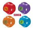 大型犬用KONGコングジャンブラーボール持ち手のついたボールMLサイズ5000円以上送料無料