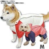 アイリスオーヤマ 小型犬 Pecolleレインコート 合羽(カッパ) SPR-M ライトイエロー レッド トイプーサイズ【RCP】
