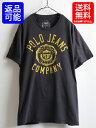 人気の黒■ラルフローレン POLO JEANS CO ポロジーンズ カンパニー 3段 カレッジ プリント 半袖 Tシャツ( 男性 メンズ L )半袖Tシャツ 古着