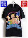 人気の 黒 00s ■The Simpsons シンプソン オフィシャル プリント Tシャツ (男性 メンズ M ) 半袖Tシャツ アメキャラ 2009年製 古着 USED