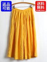 80sUSA製ギャザースカート古着無地レーヨンマキシ丈スカート(L)ロング丈ティアードシフォンロングSkirtフレア古着女子大人