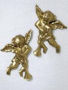 天使雑貨ツインエンジェル壁飾りan193