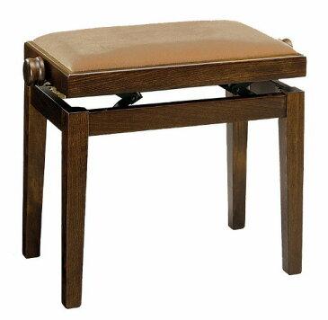 【ピアノ購入者限定】3F-4 ピアノ椅子 No.105 艶消しウォルナット