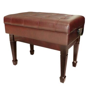 【ピアノ購入者限定】4F-5 ピアノ椅子 C60-D 特注色(マホガニー)