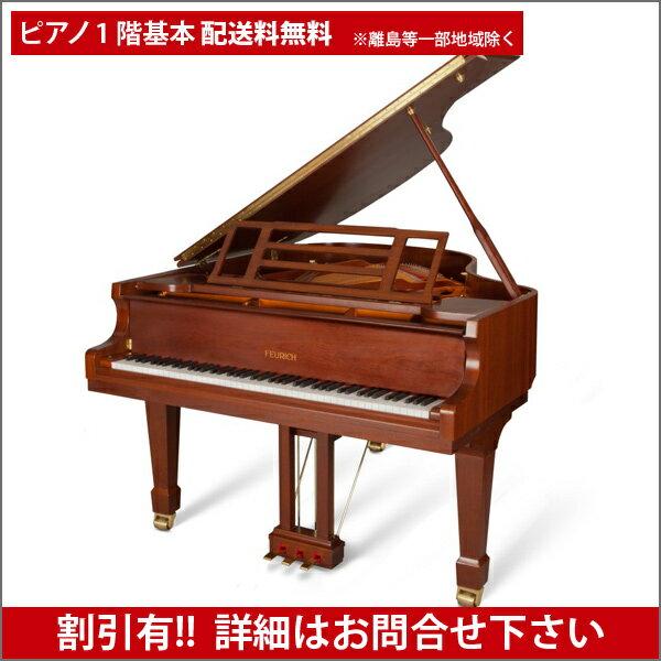 【送料無料 ※離島等一部地域除く】FEURICH(フォイリッヒ)Mod.161 - Professional Walnut satin【新品グランドピアノ】【新品ピアノ】【演奏動画付】