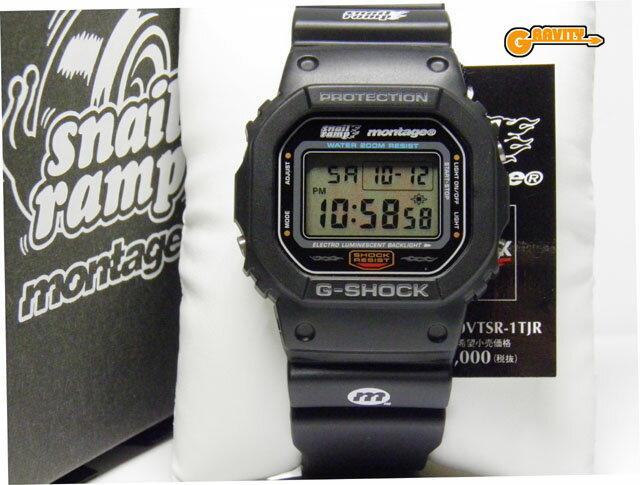 腕時計, メンズ腕時計 CASIOG-SHOCKG DW-5600VTSR-1TJR SNAIL RAMP montage