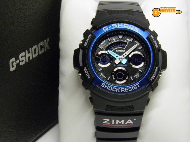 腕時計, メンズ腕時計 ZIMAG-SHOCK AW-591-2A 66 D