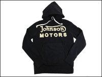 JOHNSONMOTORS/ジョンソンモータースプルオーバーパーカー「ジョモクラッシック1938」オイルドブラック