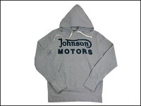 JOHNSONMOTORS/ジョンソンモータースプルオーバーパーカー「ジョモクラッシック1938」ヘザーグレー