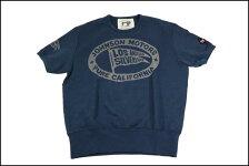 JOHNSONMOTORS/ジョンソンモーターススウェットTシャツ「ピュア」デッドネイビー