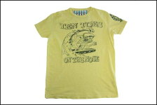 SUNSETSURF/サンセットサーフS/STシャツ「サーフフィンク」レモン