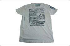 SUNSETSURF/サンセットサーフS/STシャツ「ホノルル」スカイブルー