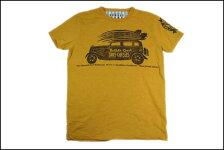 SUNSETSURF/サンセットサーフS/STシャツ「サーフチェイサーズ」イエローサンドBYジョンソンモータース