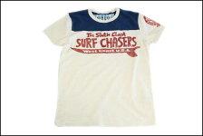 SUNSETSURF/サンセットサーフS/S切替Tシャツ「サウスコーストサーフ」ダーティーホワイトBYジョンソンモータース