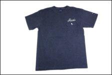 GOODON/グッドオンS/SボーリングポケットTシャツネイビー