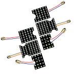 スズキ ジムニー/JIMNY JA11 JA12 JA22 JB31 JB32 用 214発 純正テール LEDテールランプ 化キット 6点セット 基盤LED 純正 交換 テール ランプ LED キット