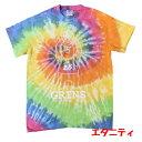 タイダイ染めコットンTシャツ「グリンベア:エタニティ」バスケットボールTシャツ