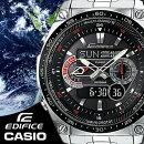 CASIOEDIFICE腕時計エディフィス電波ソーラーメンズ腕時計うでどけい世界6局受信電波時計ECW-M300EDB-1Aマルチバンド6クロノグラフアナログデジタル