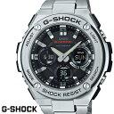 G-SHOCK ジーショック メンズ 腕時計 GST-W110D-1A Gスチール メタルバンド 電波ソーラー 電波時計 ブラック シルバー うでどけい CASIO G-STEEL