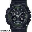 G-SHOCK CASIO 腕時計 メンズ GA-100L-1A デジアナ デジタル アナログ BIG FACE ブランド うでどけい クロノグラフ G−SHOCK スペシャルカラー レイヤードカラー ブラックxカーキ