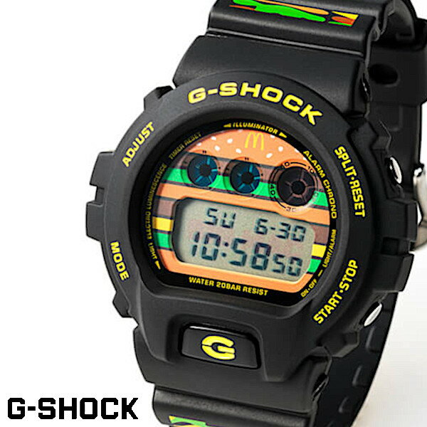 腕時計, メンズ腕時計 CASIO G-SHOCK DW-6900FS-BIGMAC BIG MAC 50 CASIO G-SHOCK 35 DW-6900FS