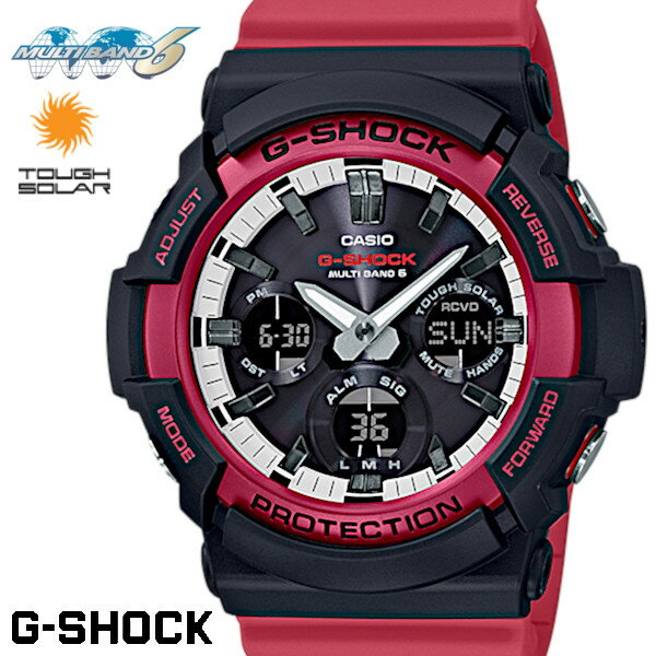 CASIO G-SHOCK Red watch CASIO G-SHOCK GAW-100RB-...