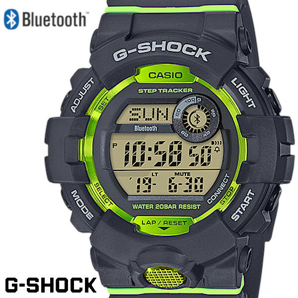 腕時計, メンズ腕時計 2!!CASIO G-SHOCK G-SQUAD Bluetooth GBD-800-8JF