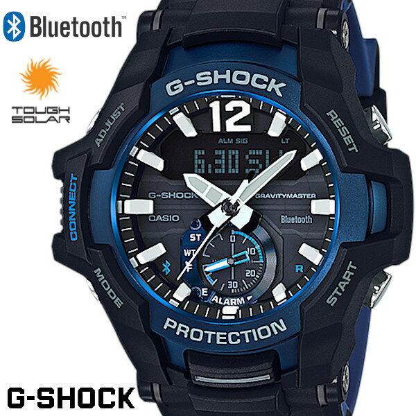 腕時計, メンズ腕時計 CASIO G-SHOCK GRAVITYMASTER GR-B100-1A2JF Bluetooth