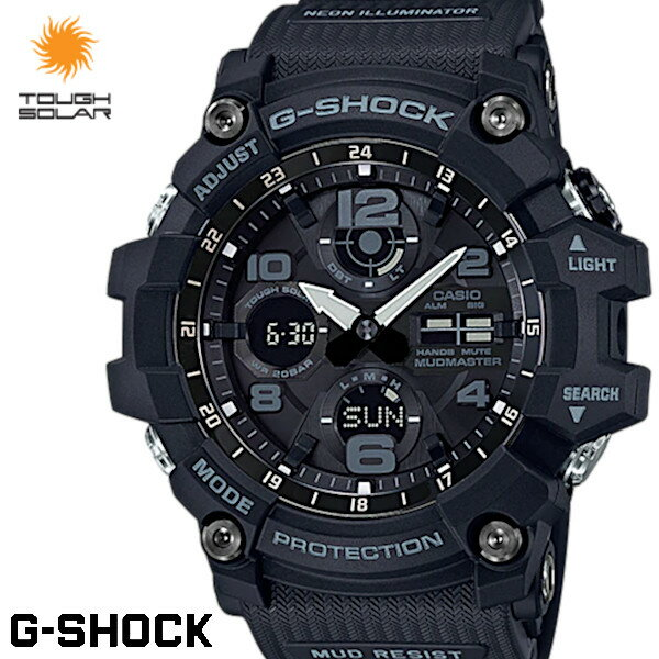 腕時計, メンズ腕時計 G-SHOCK G MUDMASTER GSG-100-1A