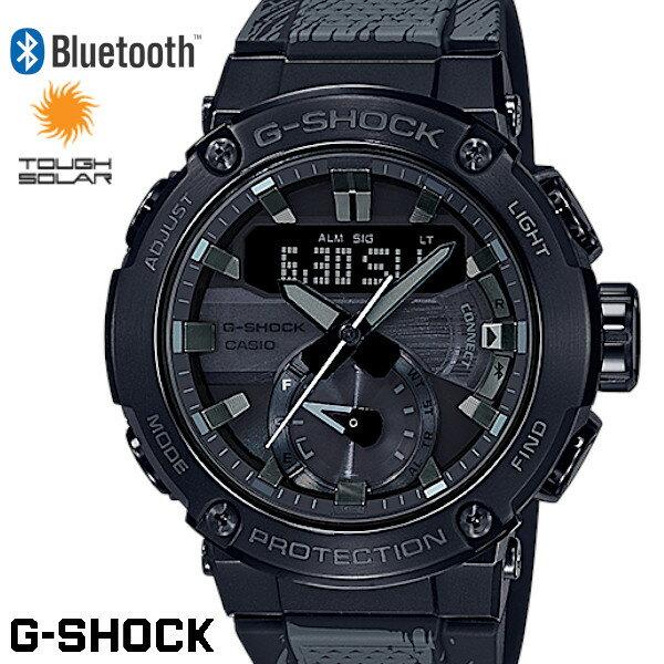 腕時計, メンズ腕時計 G-SHOCK GST-B200TJ-1A Bluetooth G-STEEL