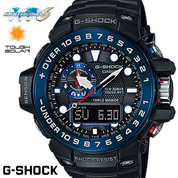 CASIO G-SHOCK Solar watch G-SHOCK GULFMASTER GWN...