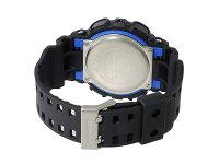 G-SHOCKカシオGショックGA-100-1A2ブラックブルーCASIOG−SHOCKジーショック腕時計アナデジうでどけい