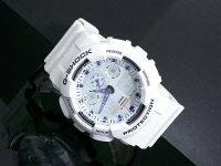 【CASIO/G-SHOCK】【送料無料】【ホワイト】【アナデジコンビネーション】カシオ腕時計G-ショックアナログデジタルGA-100A-7GA100A-7うでどけいメンズデジタルmen's