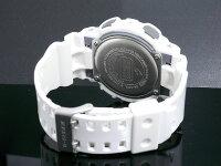 G-SHOCK白腕時計メンズレディースGA-100A-7ジーショックホワイトCASIOG−SHOCKgshockg−shock