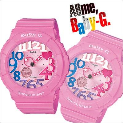 送料無料/あす楽対応/BABY-GCASIO/Baby-G/ネオンダイアルシリーズ/ピンク 腕時計 ベビーG BGA-1...