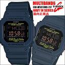 CASIO/G-SHOCK/ジーショック/電波ソーラー メンズ 腕時計 5600シリーズ ORIGIN ネイビー GW-M5610NV-2JF