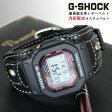 再入荷!!【 レザーショック/LEATHER-SHOCK 】カスタムベルト 交換ベルト G-SHOCK 限定 メンズ ジーショック レザー CASIO 黒 ネイビー メンズ 腕時計 うでどけい 革 gshock G−SHOCK