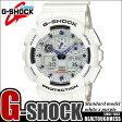 G-SHOCK 白 腕時計 メンズ レディース GA-100A-7 ジーショック ホワイト CASIO G−SHOCK gshock g−shock