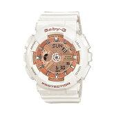 CASIO/BABY-G/カシオ ベビーG ビッグケース 腕時計 うでどけい レディース LADIE'S ピンク ホワイト BA-110-7A1JF