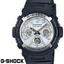 CASIOG-SHOCKジーショックメンズ腕時計AWG-M100S-7ASKYCOCKPITスタンダードモデル電波ソーラーブラックホワイト