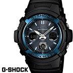 G-SHOCK ジーショック gーshock 腕時計アナデジ ソーラー 電波 ブラック ブルー AWG-M100A-1A G−SHOCK gshock g−sh...