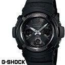 G-SHOCK ジーショック 電波ソーラー 黒 ブラック デジタル アナログ ブランド メンズ 腕時計 AWG-M100B-1 G−SHOCK Gショック CASIO カシオ