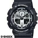 【CASIO/G-SHOCK】【送料無料】【ブラック/グリーン】【アナデジコンビネーション】カシオ腕時計G-ショックアナログデジタルGA-100C-1A3GA100C-1A3うでどけいメンズデジタルmen's黒緑